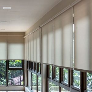 Silklook Roller Blinds by Maxtrack Brunei